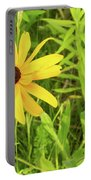 Black Eyed Susan Iv Portable Battery Charger