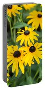 Black-eyed Susan Up Close Portable Battery Charger