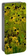 Black Eyed Susan Work Number 21 Portable Battery Charger
