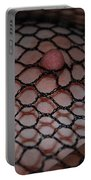 Black Fishnet Portable Battery Charger