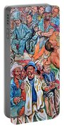 Black History Portable Battery Charger