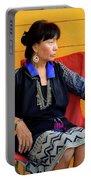 Black Hmong Sapa 1 Portable Battery Charger