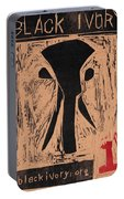 Black Ivory Issue 1 Woodcut Portable Battery Charger