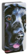 Black Lab No Ordinary Love Portable Battery Charger