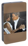 Black Love Is Black Power Portable Battery Charger
