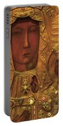 Black Madonna Portable Battery Charger
