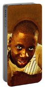 Young Black Male Teen 1 Portable Battery Charger