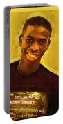 Young Black Male Teen 2 Portable Battery Charger