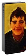 Young Black Male Teen 4 Portable Battery Charger