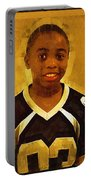 Young Black Male Teen 6 Portable Battery Charger