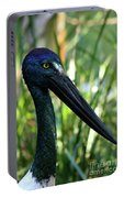 Black Necked Stork 1 Portable Battery Charger
