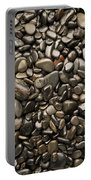 Black River Stones Portrait Portable Battery Charger by Steve Gadomski
