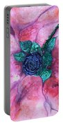 Black Rose Portable Battery Charger