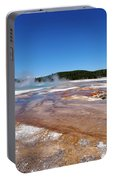 Black Sand Basin In Yellowstone National Park Portable Battery Charger