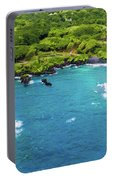 Black Sand Beach Portable Battery Charger