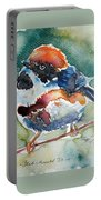Black- Throated Tit Portable Battery Charger