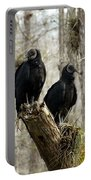 Black Vultures Portable Battery Charger