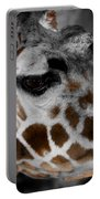 Black  White And Color Giraffe Portable Battery Charger
