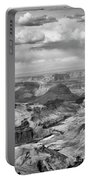 Black White Filter Grand Canyon  Portable Battery Charger