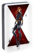 Black Widow Portable Battery Charger