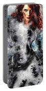 Black Widow Scarlett Johansson Portable Battery Charger
