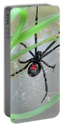 Black Widow Wheel Portable Battery Charger by Al Powell Photography USA