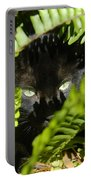 Blackie In The Ferns Portable Battery Charger