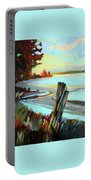 Blackie Spit Meets Mud Bay Portable Battery Charger