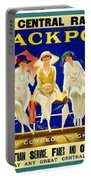 Blackpool, England - Retro Travel Advertising Poster - Three Fashionable Women - Vintage Poster -  Portable Battery Charger