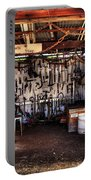 Blacksmith Shop By Kaye Menner Portable Battery Charger