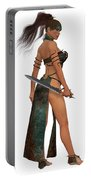Blackthorn Woman Warrior Portable Battery Charger