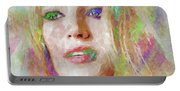 Blake Lively Watercolor Portable Battery Charger