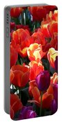 Blankets Of Tulips Portable Battery Charger