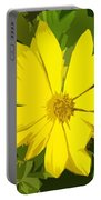 Blaze Of Yellow Portable Battery Charger