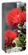 Blazing Blooms Of Ohia Flowers Portable Battery Charger