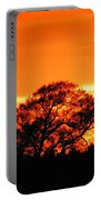 Blazing Oak Tree Portable Battery Charger