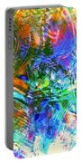 Bleached Vibrance Portable Battery Charger