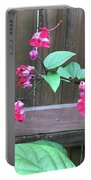 Bleeding Heart Clerodendrum Portable Battery Charger