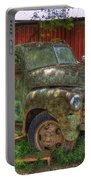 Blind In One Eye 1947 Chevy Flatbed Truck Art Portable Battery Charger