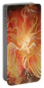 Blissful Fire Angels Portable Battery Charger
