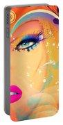 Blonde De Vogue Portable Battery Charger
