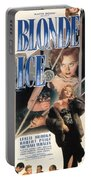 Blonde Ice Film Noir Portable Battery Charger