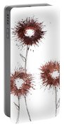 Blood Flower Portable Battery Charger