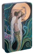 Blood Moon Goddess  Portable Battery Charger