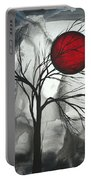 Blood Of The Moon 2 By Madart Portable Battery Charger