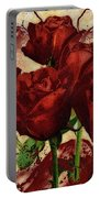 Blood Red Lust Portable Battery Charger