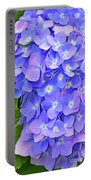 Blooming Blue Hydrangea Portable Battery Charger