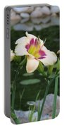 Blooming By The Pond Portable Battery Charger