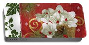 Blooming Christmas II Portable Battery Charger