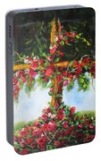 Blooming Cross Portable Battery Charger